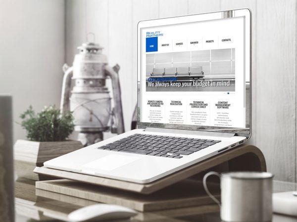 Website ontwerp Reality Partners