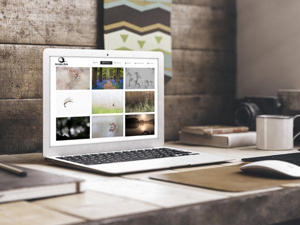 Websiteontwikkeling Jeroen Arts
