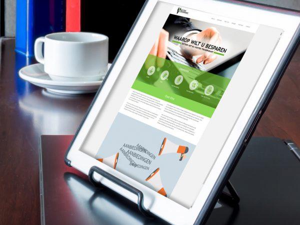 Website ontwerp Kosten transparant