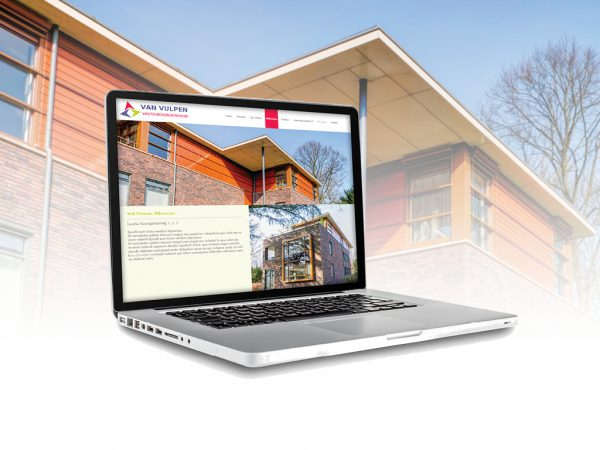 Website ontwerp Van Vulpen vastgoedonderhoud