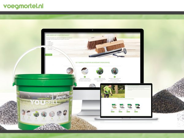 Website ontwikkeling voegmortel.nl