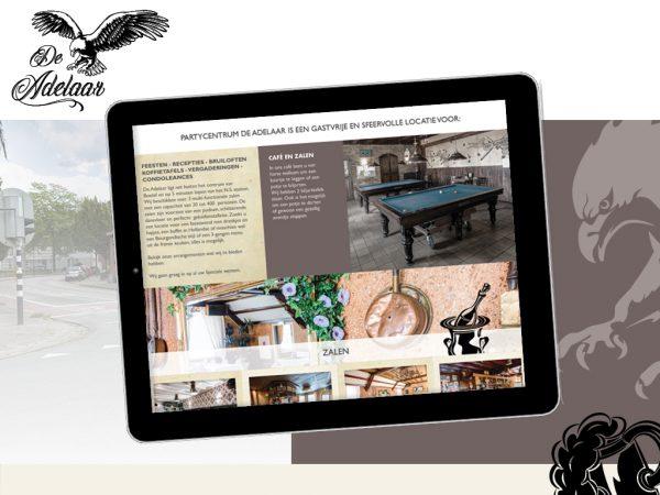 Website ontwikkeling De Adelaar