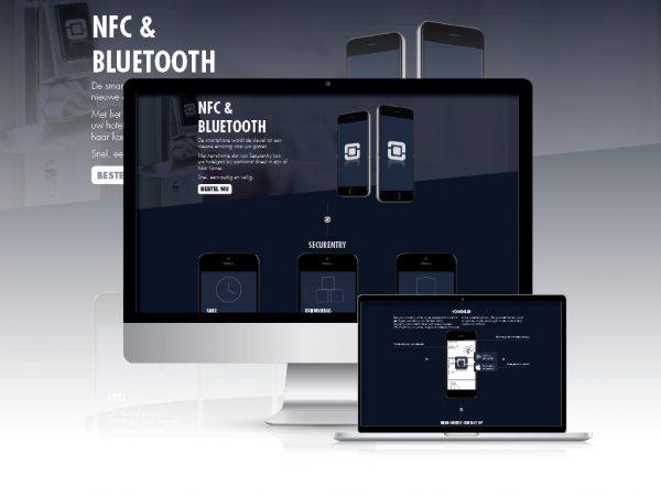 Vernieuwen website Securentry